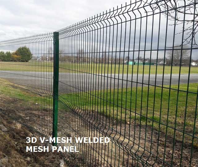 3D V-Mesh Panel