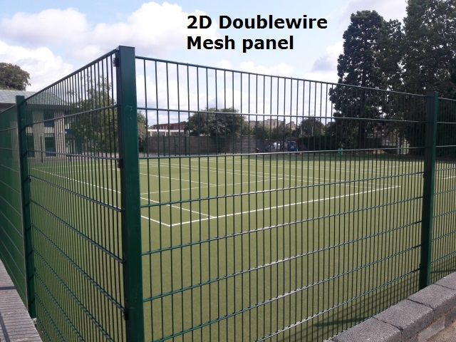 2D Doublewire Mesh Panel